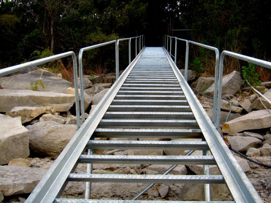 Boat Dock Stairs